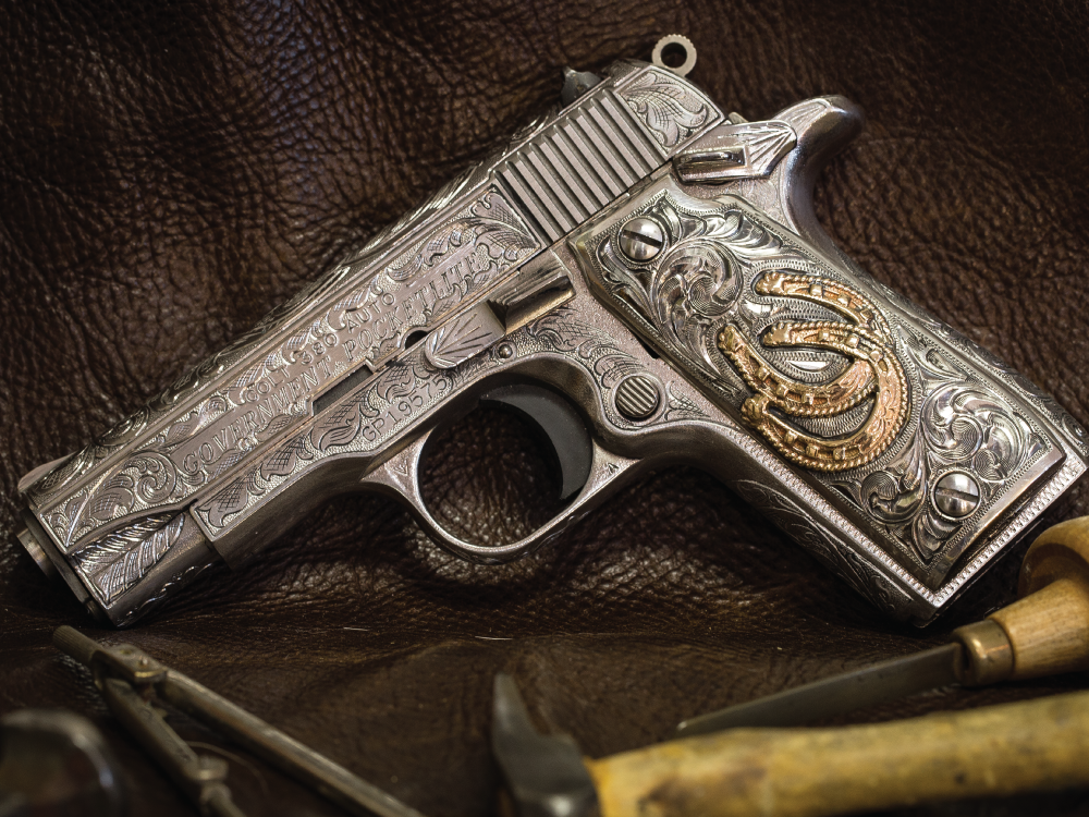 robert dove custom gun engraving
