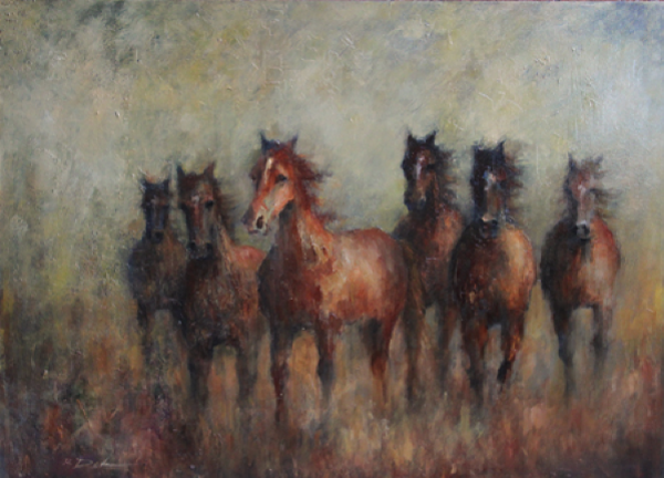 western oil paintings image